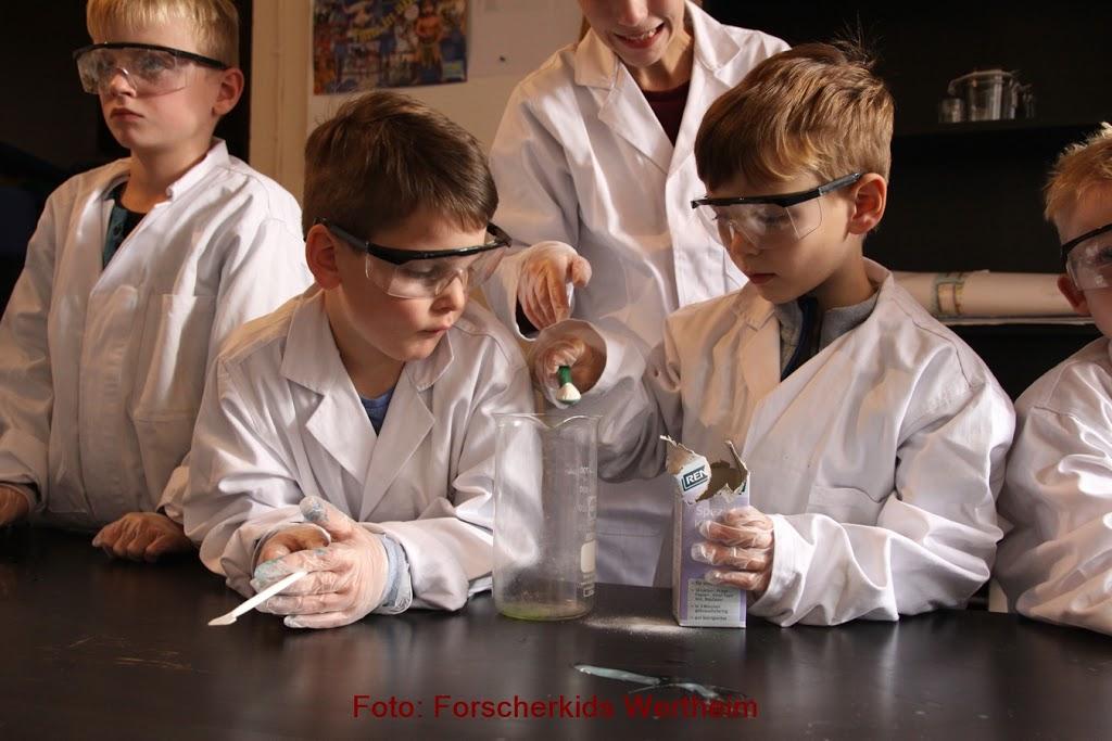 Forscherferien Herbst 2019: Kinder erlebten Naturwissenschaften auf vielfältige Weise