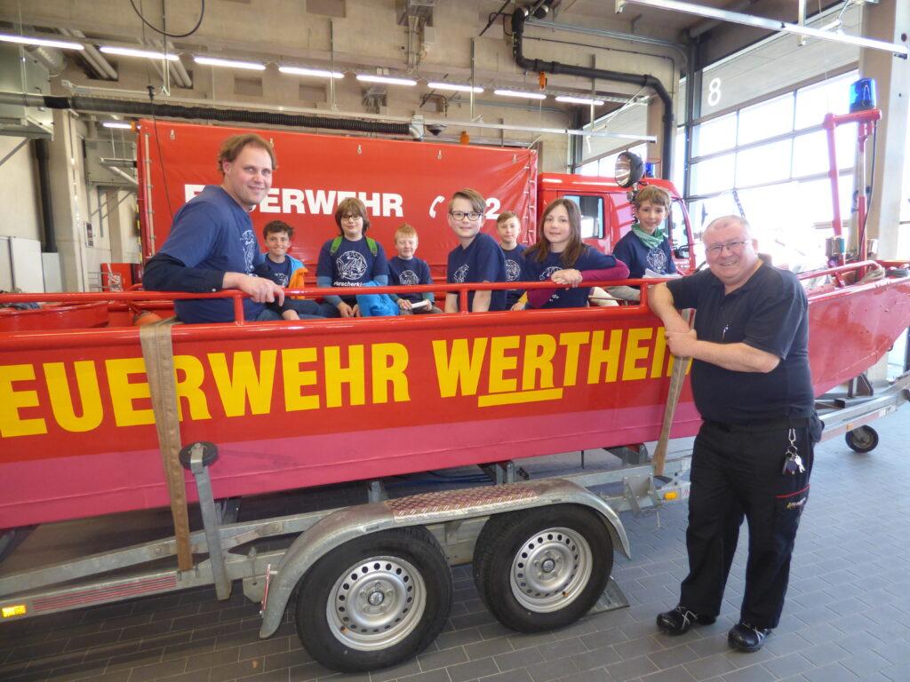 Wissenssendung zur Arbeit der Feuerwehr im Hochwasserfall