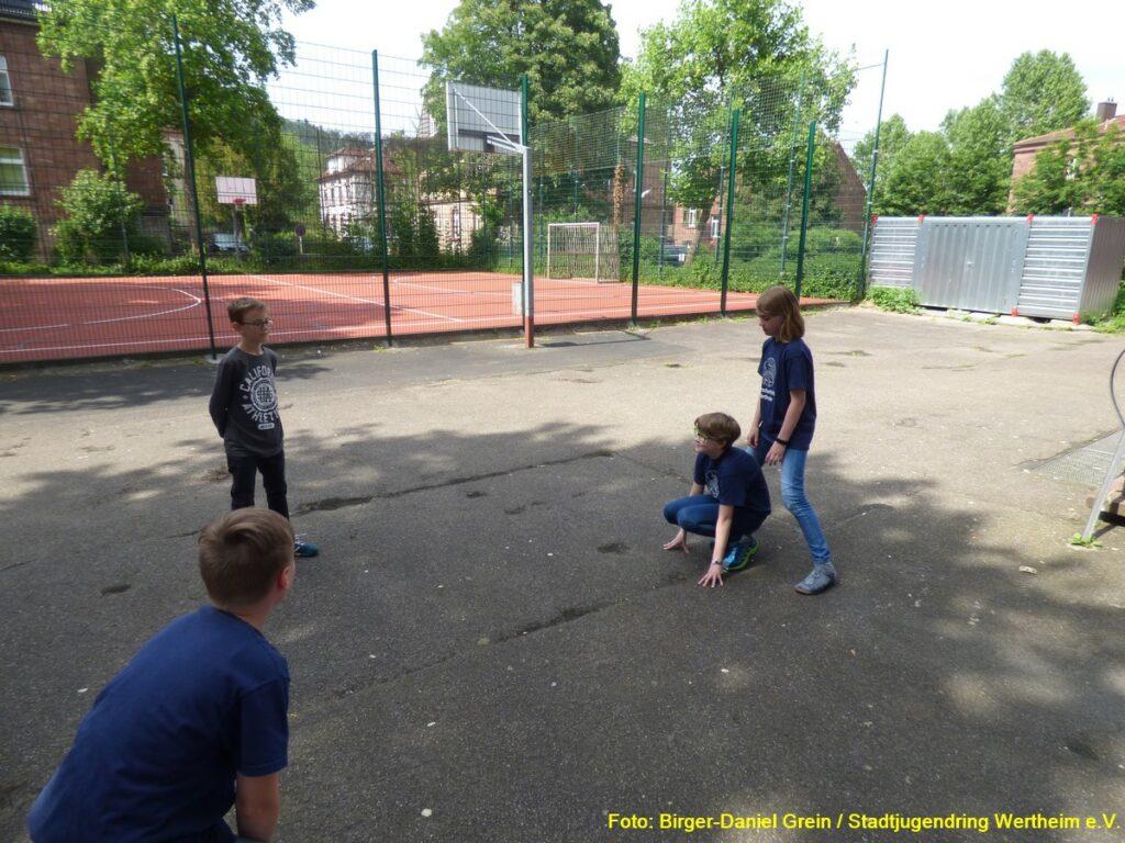 Patenschulung: Ausprobieren von Gruppenspielen und deren Wirkung